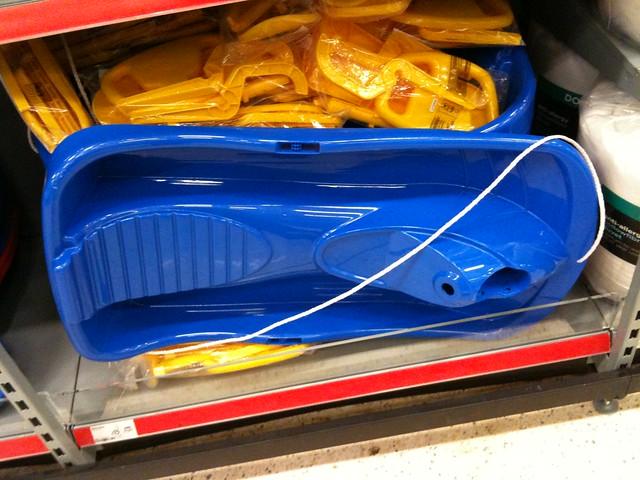 Sledge for sale in ASDA 2