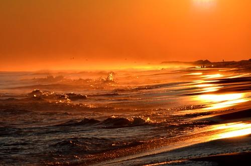 "ocean sunset sea ny newyork beach waves longisland superbowlsunday flickraward5"" ringexcellence blinkagain dblringexcellence tplringexcellence nikond5100 eltringexcellence"