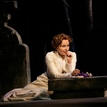 Kate Burton in the Huntington Theatre Company's production of The Cherry Orchard, directed by Nicholas Martin. Part of the Huntington Theatre Company's 2006-2007 Season. Photo: T. Charles Erickson.
