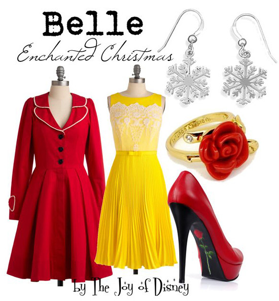 Inspired by: Belle Enchanted Christmas