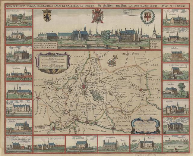 Hondius 1663 map