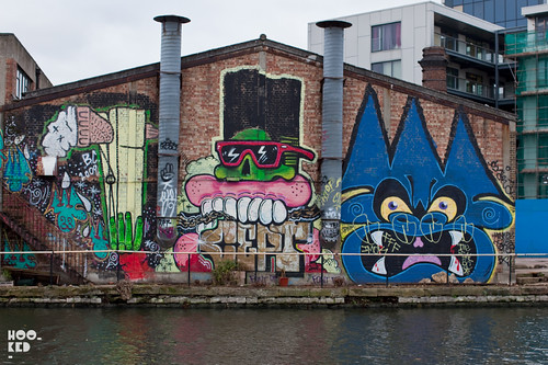 Street Art tour of  Hackney Wick — Sweet Toof