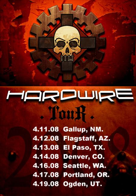 2008 Tour Poster