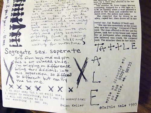 Tattle Tale cassette 0013
