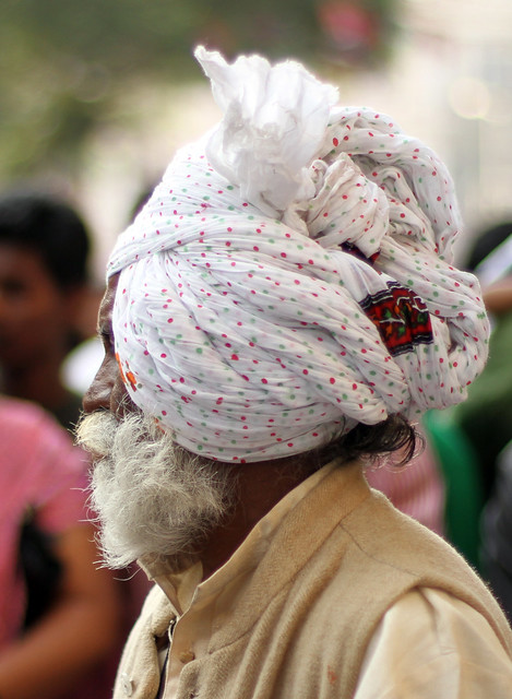 White Turban and Beard