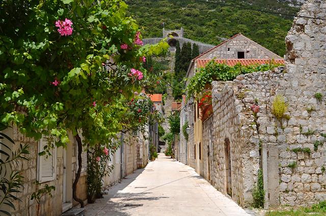 Ston, Peljesac, Croatia