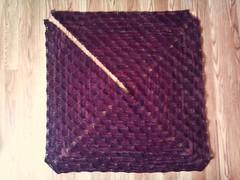 Azalea shawl