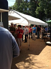 Line at LA Barbecue - Austin, TX