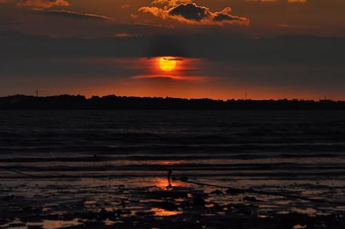 sunset landscape day cloudy portdickson pasirpanjang