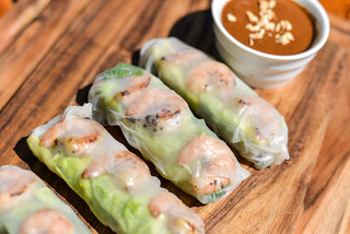 Vietnamese Grilled Shrimp Summer Rolls