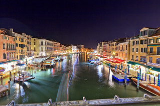 Rialto's view at night
