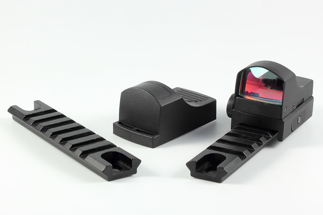 Reflex Sight on Rails