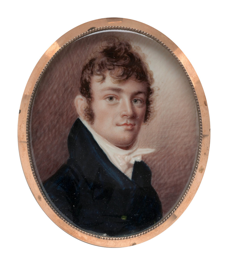 Portrait of a Gentleman by Joseph Wood, 1815