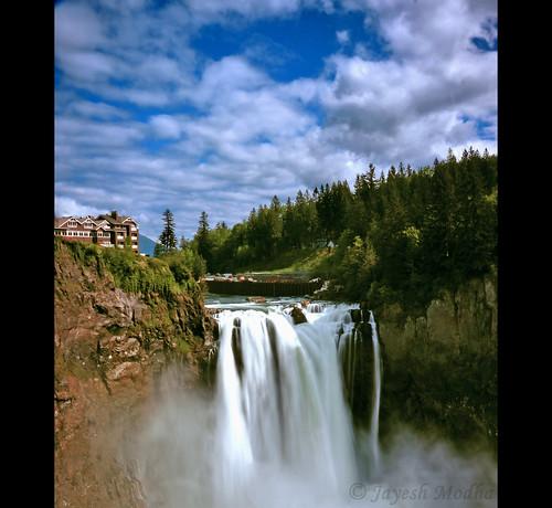 waterfalls snoqualmieriver snowqualmiefalls nikond90 washingtonwaterfalls 18105mmf3556gvr jayeshmodha snoqualmieattractions