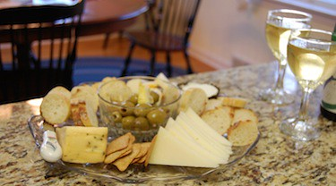 Thanksgiving cheese plate