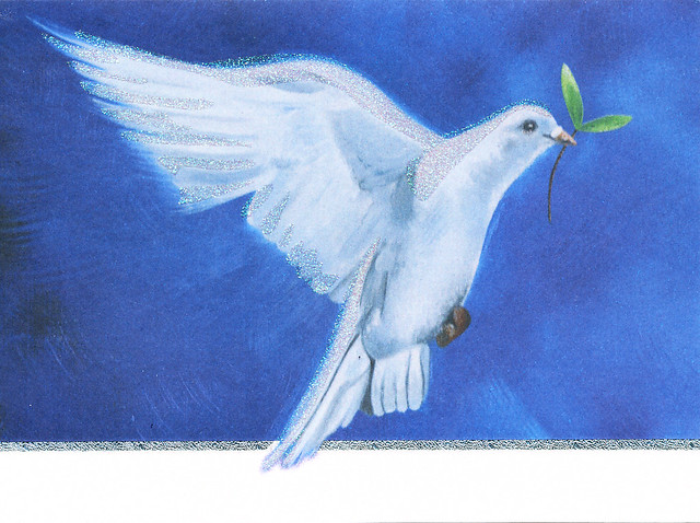 May the spirit of peace be with you this Christmas