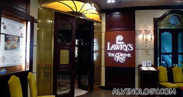 Lawry's The Prime Rib (Singapore)