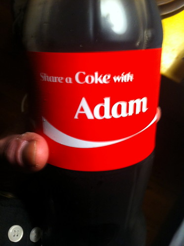 'Share a Coke with the empty validation of corporate ad-men who saw you coming a mile off' - Matt Kav, 2011