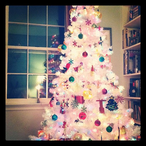 White Christmas Tree!