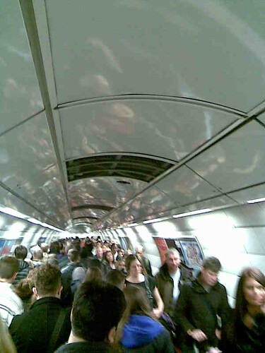 shuffle to central line