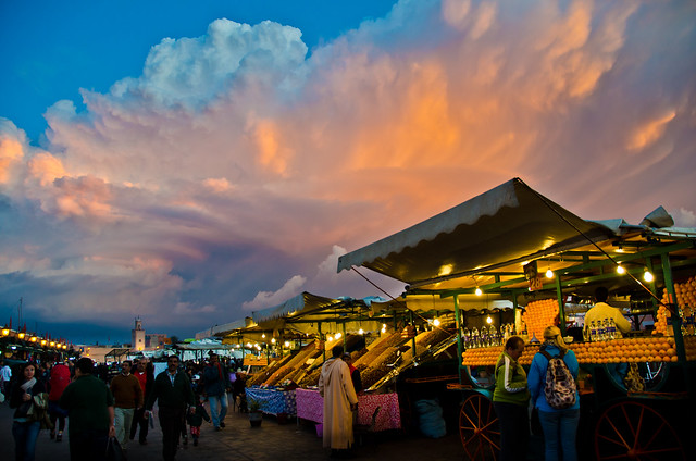 Djemaa el Fna Sunset