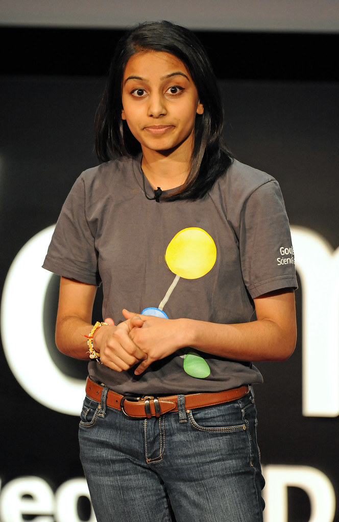 TEDxWomen speaker and winner of the first annual Google Science Fair Naomi Shah
