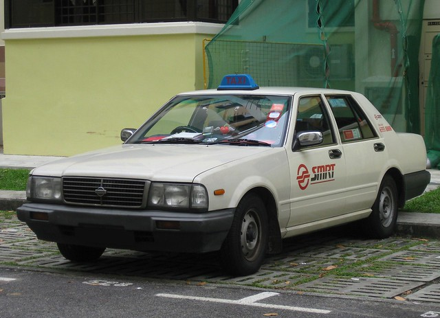 SMRT Taxis Nissan Cedric Taxi | Flickr - Photo Sharing!