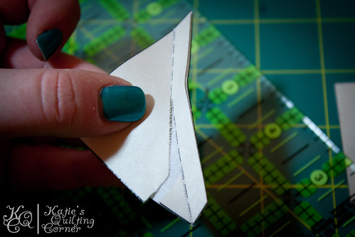 Half-Square Triangle Foundation Piecing Tutorial