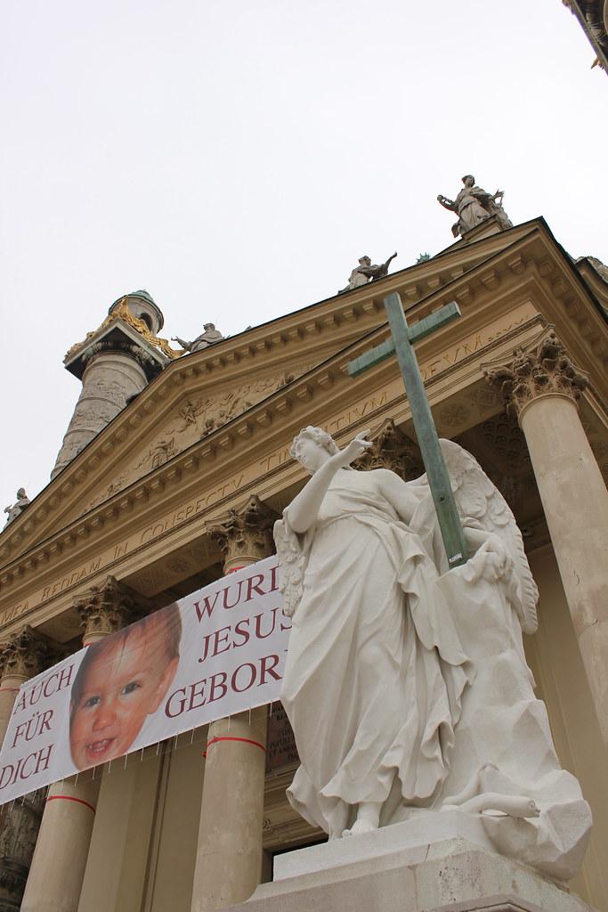 Karlskirche, la Iglesia de San Carlos Borromeo