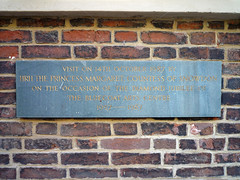 Photo of Margaret stone plaque