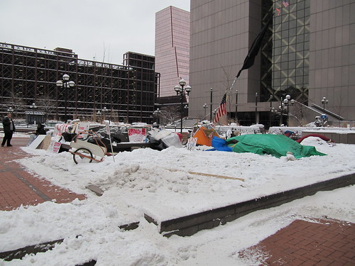 Occupy Minnesota at Hennepin County Government Center