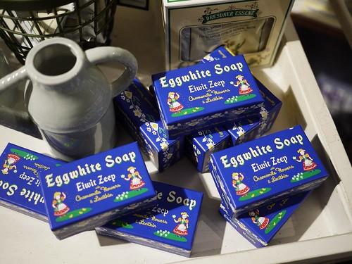 eggwhite soap by migi328