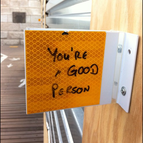 You're a good person