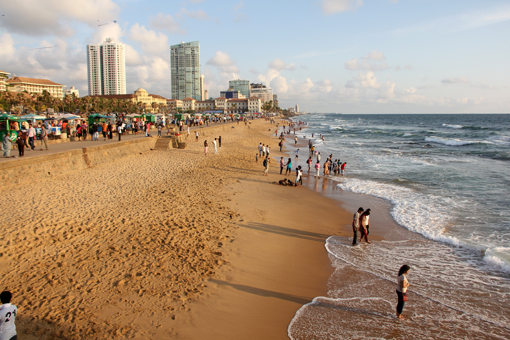 Galle Face, Colombo, Sri Lanka