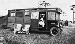 House car named Harriet at Tin Can Tourists convention: Arcadia, Florida