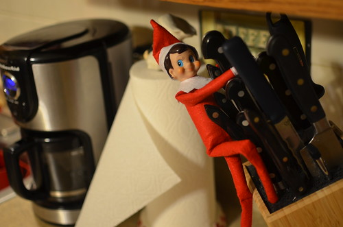 Elf on a Shelf Misbehaving