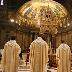Roma, Celebración de la Santa Misa