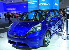 automobile, vehicle, automotive design, auto show, subcompact car, honda, city car, honda fit, land vehicle,