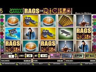 rags-to-riches-20-lines slot game online review