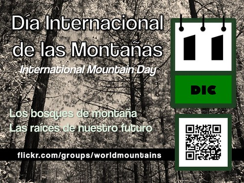 International Mountain Day is December 11 (Día Internacional de las Montañas es 11 diciembre) #imd2011
