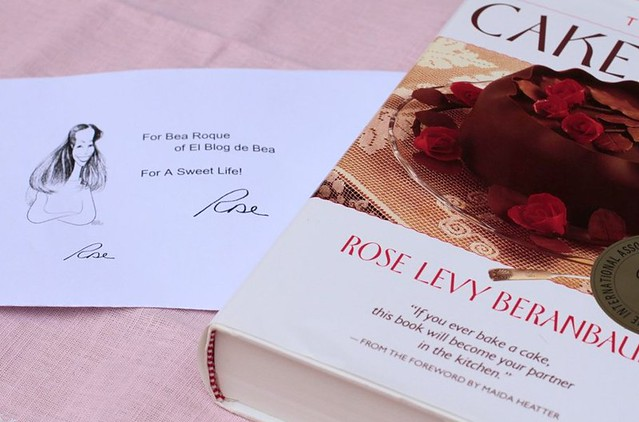 Autografo Rose Levy