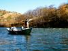 Brian high sticks a Klamath River riff