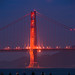 Photographers capture the conjunction of the full lunar eclipse and the Golden Gate Bridge by kern.justin
