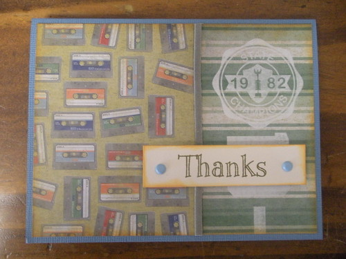 Vintage Thanks Card