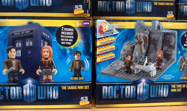 Doctor Who Lego compatible kits