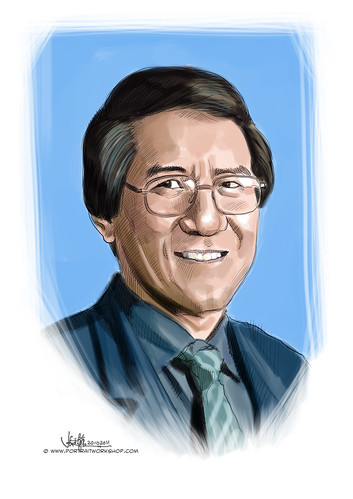 digital portrait of Dr Lim Yun Chin - 2