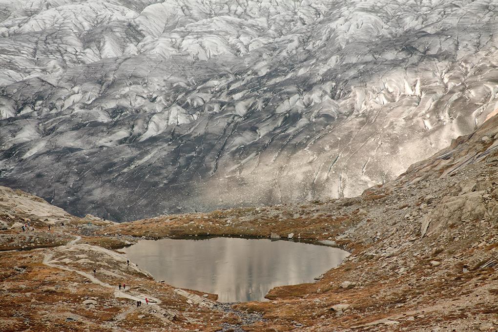 Suiza - Las montañas - Glaciar Alestch detalle 5