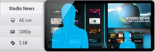 3D News Studio