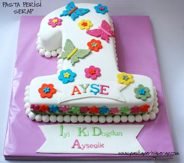 1 yaş pastası- ayşe