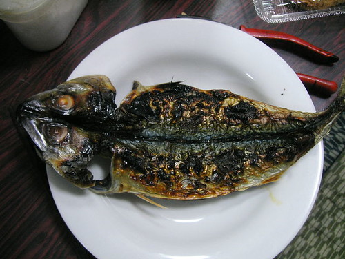 Burned mackerel.  by KandaMori
